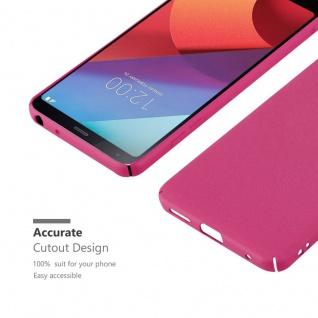 Cadorabo Hülle für LG G6 in FROSTY PINK - Hardcase Handyhülle aus Plastik gegen Kratzer und Stöße - Schutzhülle Bumper Ultra Slim Back Case Hard Cover - Vorschau 5