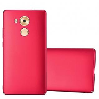 Cadorabo Hülle für Huawei MATE 8 in METALL ROT - Hardcase Handyhülle aus Plastik gegen Kratzer und Stöße - Schutzhülle Bumper Ultra Slim Back Case Hard Cover