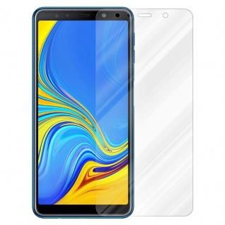 Cadorabo Panzer Folie für Samsung Galaxy A7 2018 - Schutzfolie in KRISTALL KLAR - Gehärtetes (Tempered) Display-Schutzglas in 9H Härte mit 3D Touch Kompatibilität - Vorschau 2