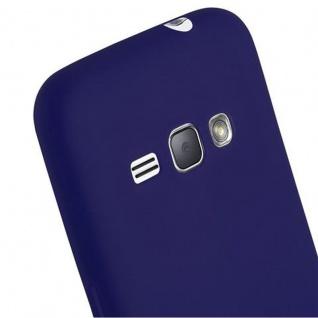 Cadorabo Hülle für Samsung Galaxy J1 2016 in CANDY DUNKEL BLAU - Handyhülle aus flexiblem TPU Silikon - Silikonhülle Schutzhülle Ultra Slim Soft Back Cover Case Bumper - Vorschau 5