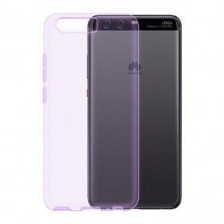 Cadorabo Hülle für Huawei P10 PLUS in TRANSPARENT LILA - Handyhülle aus flexiblem TPU Silikon - Silikonhülle Schutzhülle Ultra Slim Soft Back Cover Case Bumper