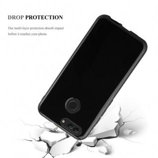 Cadorabo Hülle für Huawei NOVA 2 in SCHWARZ - Handyhülle aus flexiblem TPU Silikon - Silikonhülle Schutzhülle Ultra Slim Soft Back Cover Case Bumper - Vorschau 5