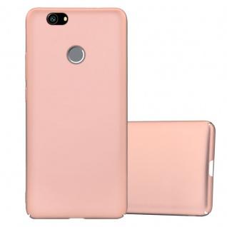 Cadorabo Hülle für Huawei Nova in METALL ROSÉ GOLD ? Hardcase Handyhülle aus Plastik gegen Kratzer und Stöße ? Schutzhülle Bumper Ultra Slim Back Case Hard Cover