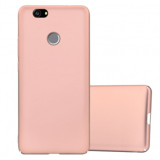 Cadorabo Hülle für Huawei Nova in METALL ROSÉ GOLD Hardcase Handyhülle aus Plastik gegen Kratzer und Stöße Schutzhülle Bumper Ultra Slim Back Case Hard Cover