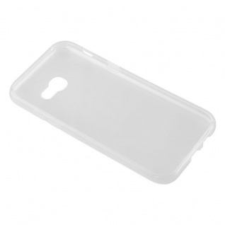 Cadorabo Hülle für Samsung Galaxy A3 2017 in VOLL TRANSPARENT - Handyhülle aus flexiblem TPU Silikon - Silikonhülle Schutzhülle Ultra Slim Soft Back Cover Case Bumper - Vorschau 3