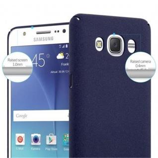 Cadorabo Hülle für Samsung Galaxy J5 2016 in FROSTY BLAU - Hardcase Handyhülle aus Plastik gegen Kratzer und Stöße - Schutzhülle Bumper Ultra Slim Back Case Hard Cover - Vorschau 5