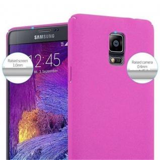 Cadorabo Hülle für Samsung Galaxy NOTE 4 in FROSTY PINK - Hardcase Handyhülle aus Plastik gegen Kratzer und Stöße - Schutzhülle Bumper Ultra Slim Back Case Hard Cover - Vorschau 5