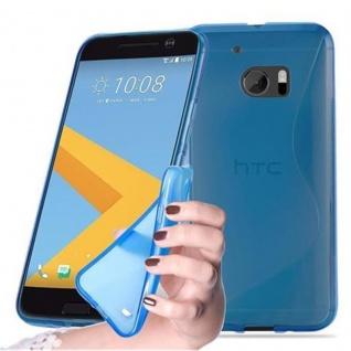 Cadorabo Hülle für HTC 10 (One M10) in ROYAL BLAU Handyhülle aus flexiblem TPU Silikon Silikonhülle Schutzhülle Ultra Slim Soft Back Cover Case Bumper
