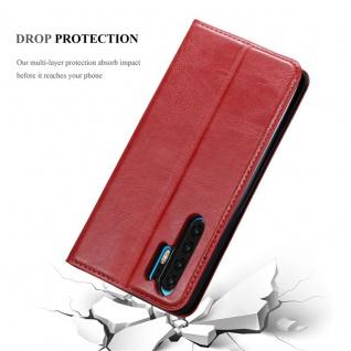 Cadorabo Hülle für Huawei P30 PRO in APFEL ROT Handyhülle mit Magnetverschluss, Standfunktion und Kartenfach Case Cover Schutzhülle Etui Tasche Book Klapp Style - Vorschau 5