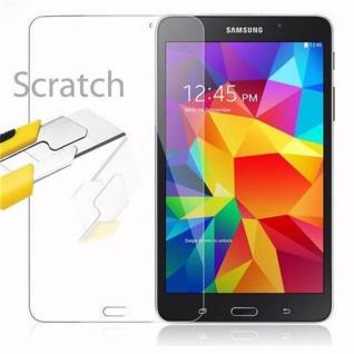 Cadorabo Panzer Folie für Samsung Galaxy Tab 4 (7 Zoll) - Schutzfolie in KRISTALL KLAR - Gehärtetes (Tempered) Display-Schutzglas in 9H Härte mit 3D Touch Kompatibilität - Vorschau 2