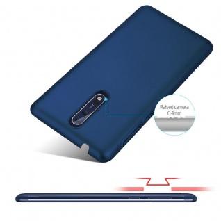 Cadorabo Hülle für Nokia 8 2017 in METALL BLAU ? Hardcase Handyhülle aus Plastik gegen Kratzer und Stöße ? Schutzhülle Bumper Ultra Slim Back Case Hard Cover - Vorschau 4