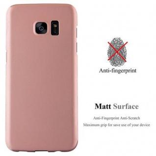 Cadorabo Hülle für Samsung Galaxy S7 EDGE in METALL ROSE GOLD - Hardcase Handyhülle aus Plastik gegen Kratzer und Stöße - Schutzhülle Bumper Ultra Slim Back Case Hard Cover - Vorschau 2