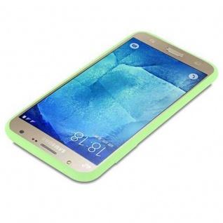 Cadorabo Hülle für Samsung Galaxy J7 2015 in CANDY PASTELL GRÜN - Handyhülle aus flexiblem TPU Silikon - Silikonhülle Schutzhülle Ultra Slim Soft Back Cover Case Bumper - Vorschau 3