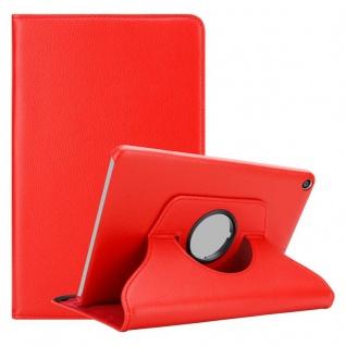 """Cadorabo Tablet Hülle für Huawei MediaPad T3 8 (8, 0"""" Zoll) in MOHN ROT Book Style Schutzhülle OHNE Auto Wake Up mit Standfunktion und Gummiband Verschluss"""