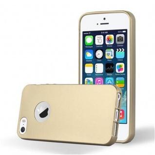 Cadorabo Hülle Für Apple Iphone 5 5s Hülle In Metallic Gold