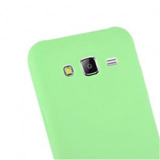 Cadorabo Hülle für Samsung Galaxy J5 2015 in CANDY PASTELL GRÜN - Handyhülle aus flexiblem TPU Silikon - Silikonhülle Schutzhülle Ultra Slim Soft Back Cover Case Bumper - Vorschau 5
