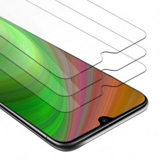 Cadorabo 3x Panzer Folie für Xiaomi Mi A3 - Schutzfolie in KRISTALL KLAR - 3er Pack Gehärtetes (Tempered) Display-Schutzglas in 9H Härte mit 3D Touch Kompatibilität
