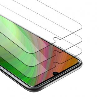 Cadorabo 3x Panzer Folie kompatibel mit Xiaomi Redmi 10X 5G Schutzfolie in KRISTALL KLAR 3er Pack Gehärtetes (Tempered) Display-Schutzglas in 9H Härte mit 3D Touch Kompatibilität