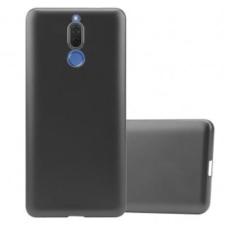 Cadorabo Hülle für Huawei MATE 10 LITE in METALLIC GRAU - Handyhülle aus flexiblem TPU Silikon - Silikonhülle Schutzhülle Ultra Slim Soft Back Cover Case Bumper