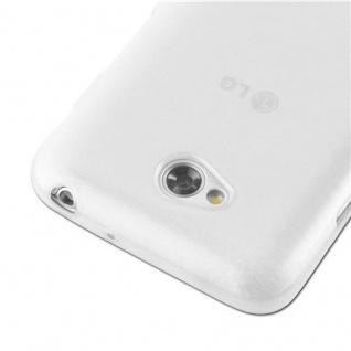 Cadorabo Hülle für LG L70 (1.SIM) in SILBER - Handyhülle aus flexiblem TPU Silikon - Silikonhülle Schutzhülle Ultra Slim Soft Back Cover Case Bumper - Vorschau 4