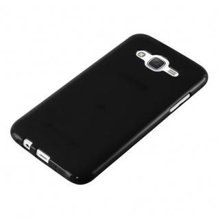 Cadorabo Hülle für Samsung Galaxy J5 2015 in JELLY SCHWARZ - Handyhülle aus flexiblem TPU Silikon - Silikonhülle Schutzhülle Ultra Slim Soft Back Cover Case Bumper - Vorschau 4