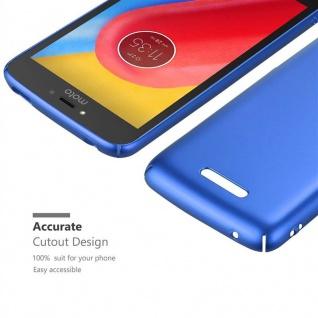 Cadorabo Hülle für Motorola MOTO C PLUS in METALL BLAU - Hardcase Handyhülle aus Plastik gegen Kratzer und Stöße - Schutzhülle Bumper Ultra Slim Back Case Hard Cover - Vorschau 5