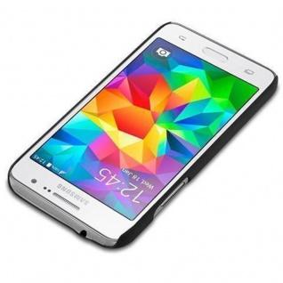 Cadorabo Hülle für Samsung Galaxy CORE PRIME in WOODY SCHWARZ ? Hardcase Handyhülle aus Plastik gegen Kratzer und Stöße ? Schutzhülle Bumper Ultra Slim Back Case Hard Cover - Vorschau 2