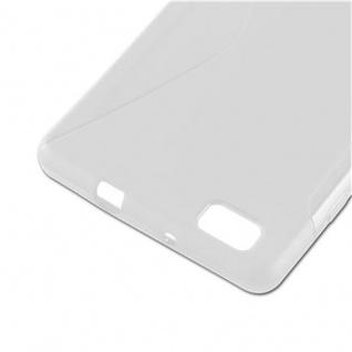Cadorabo Hülle für Huawei P8 LITE 2015 in HALB TRANSPARENT ? Handyhülle aus flexiblem TPU Silikon ? Silikonhülle Schutzhülle Ultra Slim Soft Back Cover Case Bumper - Vorschau 4
