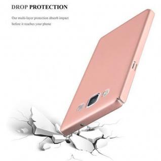 Cadorabo Hülle für Samsung Galaxy A5 2015 in METALL ROSE GOLD ? Hardcase Handyhülle aus Plastik gegen Kratzer und Stöße ? Schutzhülle Bumper Ultra Slim Back Case Hard Cover - Vorschau 5