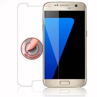 Cadorabo Panzer Folie für Samsung Galaxy S7 - Schutzfolie in KRISTALL KLAR - Gehärtetes (Tempered) Display-Schutzglas in 9H Härte mit 3D Touch Kompatibilität - Vorschau 4