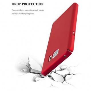 Cadorabo Hülle für Samsung Galaxy NOTE 5 in METALL ROT ? Hardcase Handyhülle aus Plastik gegen Kratzer und Stöße ? Schutzhülle Bumper Ultra Slim Back Case Hard Cover - Vorschau 5