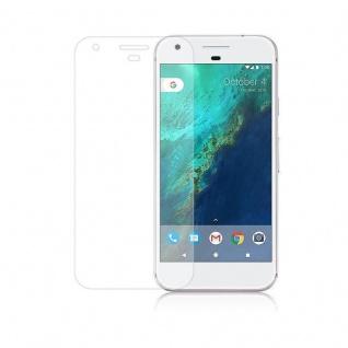 Cadorabo Panzer Folie für Google Pixel XL - Schutzfolie in KRISTALL KLAR - Gehärtetes (Tempered) Display-Schutzglas in 9H Härte mit 3D Touch Kompatibilität