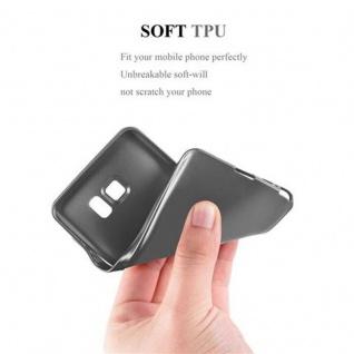 Cadorabo Hülle für Samsung Galaxy NOTE 5 in METALLIC GRAU - Handyhülle aus flexiblem TPU Silikon - Silikonhülle Schutzhülle Ultra Slim Soft Back Cover Case Bumper - Vorschau 5