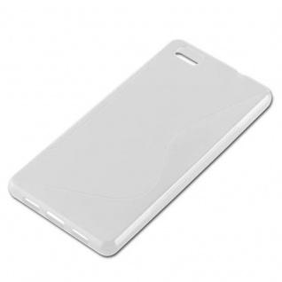 Cadorabo Hülle für Huawei P8 LITE 2015 in HALB TRANSPARENT ? Handyhülle aus flexiblem TPU Silikon ? Silikonhülle Schutzhülle Ultra Slim Soft Back Cover Case Bumper - Vorschau 2