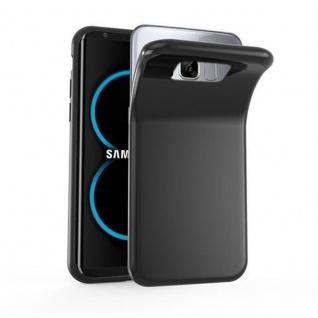 Cadorabo Hülle für Samsung Galaxy S8 PLUS in SCHWARZ - Handyhülle aus flexiblem TPU Silikon - Silikonhülle Schutzhülle Ultra Slim Soft Back Cover Case Bumper
