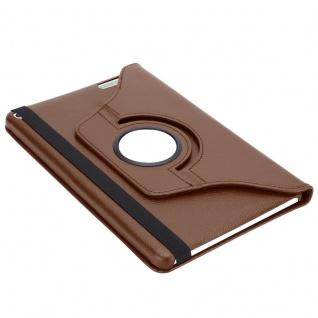 """"""" Cadorabo Tablet Hülle für Huawei MediaPad T1 10 (10, 0"""" Zoll) in PILZ BRAUN ? Book Style Schutzhülle OHNE Auto Wake Up mit Standfunktion und Gummiband Verschluss"""" - Vorschau 5"""