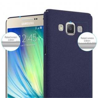 Cadorabo Hülle für Samsung Galaxy A5 2015 in FROSTY BLAU - Hardcase Handyhülle aus Plastik gegen Kratzer und Stöße - Schutzhülle Bumper Ultra Slim Back Case Hard Cover - Vorschau 5