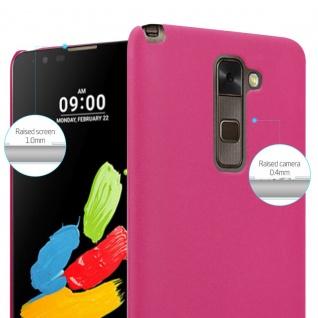 Cadorabo Hülle für LG Stylus 2 in FROSTY PINK - Hardcase Handyhülle aus Plastik gegen Kratzer und Stöße - Schutzhülle Bumper Ultra Slim Back Case Hard Cover - Vorschau 4