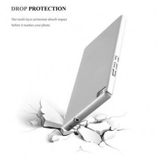 Cadorabo Hülle für Huawei P8 in METALL SILBER - Hardcase Handyhülle aus Plastik gegen Kratzer und Stöße - Schutzhülle Bumper Ultra Slim Back Case Hard Cover - Vorschau 5