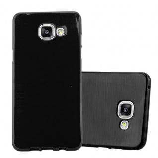 Cadorabo Hülle für Samsung Galaxy A5 2016 in SCHWARZ - Handyhülle aus flexiblem TPU Silikon - Silikonhülle Schutzhülle Ultra Slim Soft Back Cover Case Bumper