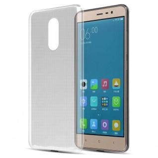Cadorabo Hülle für Xiaomi Mi Note 3 in VOLL TRANSPARENT Handyhülle aus flexiblem TPU Silikon Silikonhülle Schutzhülle Ultra Slim Soft Back Cover Case Bumper