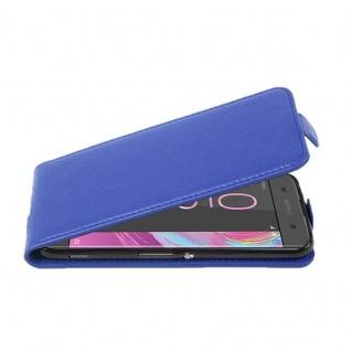 Cadorabo Hülle für Sony Xperia XA in KÖNIGS BLAU - Handyhülle im Flip Design aus strukturiertem Kunstleder - Case Cover Schutzhülle Etui Tasche Book Klapp Style