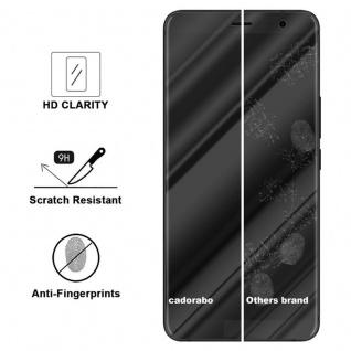 Cadorabo Panzer Folie für HTC U11 PLUS - Schutzfolie in KRISTALL KLAR - Gehärtetes (Tempered) Display-Schutzglas in 9H Härte mit 3D Touch Kompatibilität - Vorschau 3