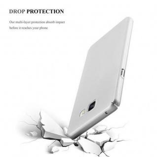 Cadorabo Hülle für Samsung Galaxy A3 2016 in METALL SILBER ? Hardcase Handyhülle aus Plastik gegen Kratzer und Stöße ? Schutzhülle Bumper Ultra Slim Back Case Hard Cover - Vorschau 5