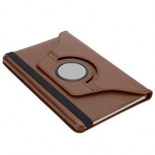""""""" Cadorabo Tablet Hülle für Huawei MediaPad T3 8 (8, 0"""" Zoll) in PILZ BRAUN ? Book Style Schutzhülle OHNE Auto Wake Up mit Standfunktion und Gummiband Verschluss"""" - Vorschau 5"""