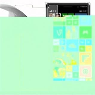 Cadorabo Panzer Folie für Nokia Lumia 830 - Schutzfolie in KRISTALL KLAR - Gehärtetes (Tempered) Display-Schutzglas in 9H Härte mit 3D Touch Kompatibilität - Vorschau 3