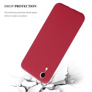 Cadorabo Hülle für Apple iPhone XR in FROSTY ROT - Hardcase Handyhülle aus Plastik gegen Kratzer und Stöße - Schutzhülle Bumper Ultra Slim Back Case Hard Cover - Vorschau 4