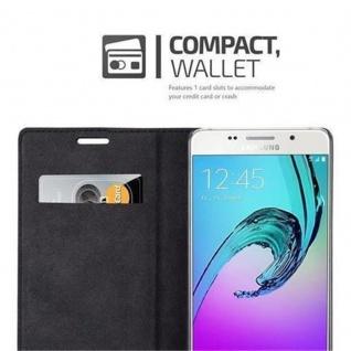 Cadorabo Hülle für Samsung Galaxy A5 2016 in PETROL TÜRKIS - Handyhülle mit Magnetverschluss, Standfunktion und Kartenfach - Case Cover Schutzhülle Etui Tasche Book Klapp Style - Vorschau 3