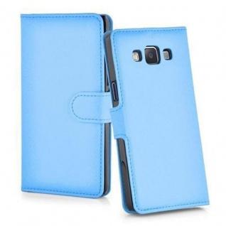 Cadorabo Hülle für Samsung Galaxy J5 2015 in PASTEL BLAU - Handyhülle mit Magnetverschluss, Standfunktion und Kartenfach - Case Cover Schutzhülle Etui Tasche Book Klapp Style - Vorschau 4