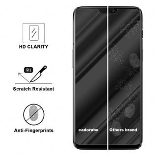Cadorabo Panzer Folie für OnePlus 6 - Schutzfolie in KRISTALL KLAR - Gehärtetes (Tempered) Display-Schutzglas in 9H Härte mit 3D Touch Kompatibilität - Vorschau 3